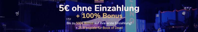 lord lucky de 5 euro gratis