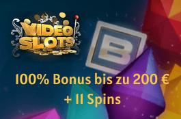 videoslots 200 euro bonus