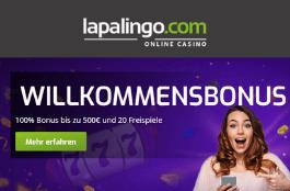 Lapalingo – 10 € Gratis bei der Anmeldung mit Bonuscode