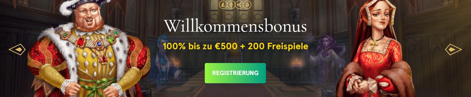 casinia 500 euro bonus und 200 free spins